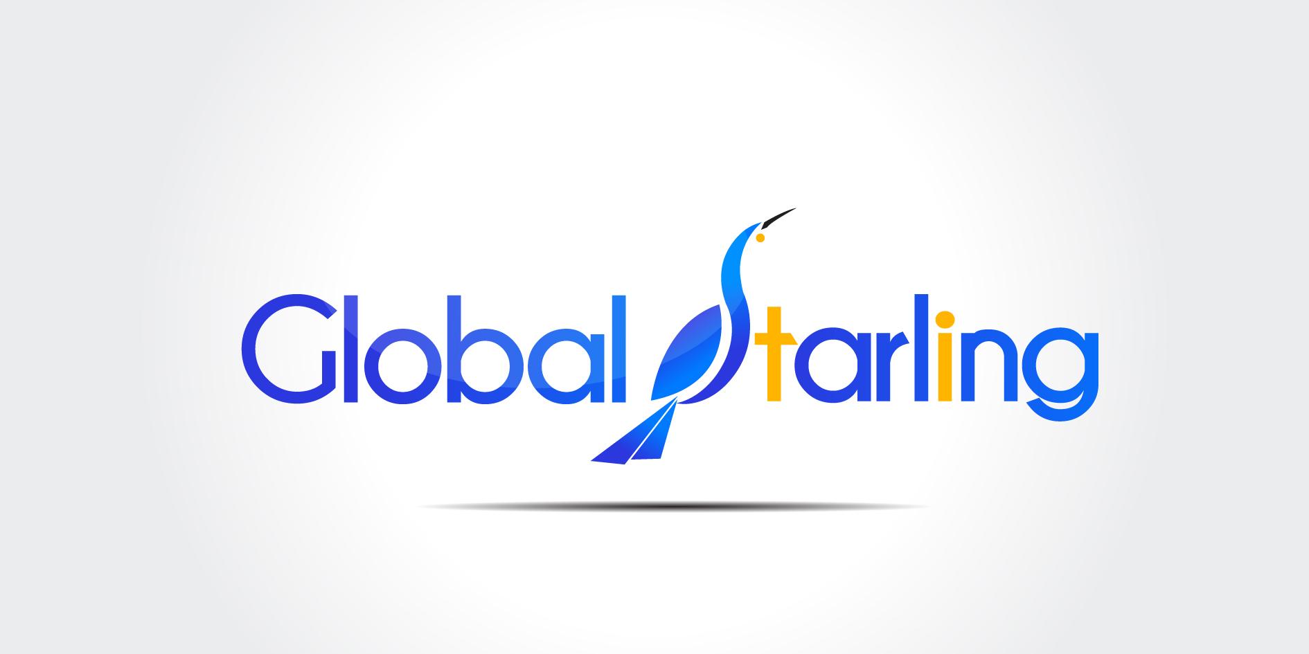 Logo mit Horizont und Linie